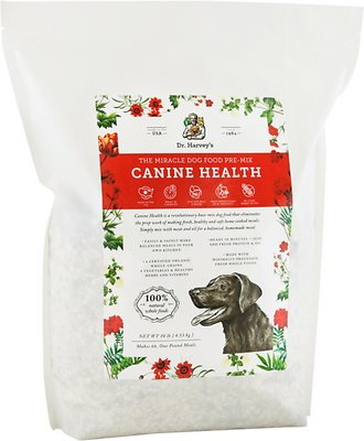Dr. Harvey's Canine Health-The Miracle Dog Food Pre-Mix