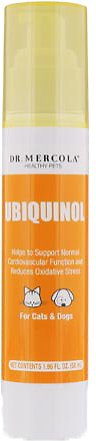 Dr. Mercola Ubiquinol Liquid Dog & Cat Supplement, 1.96-oz bottle