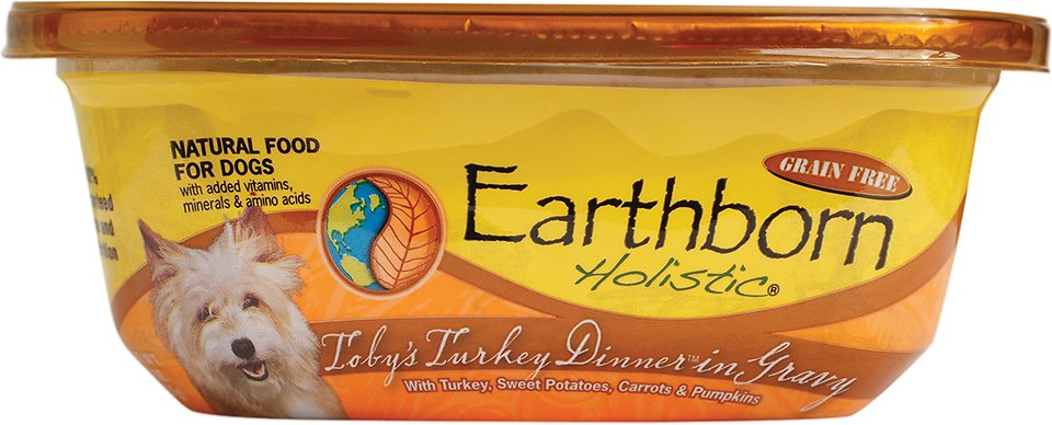 Earthborn Holistic Toby's Turkey Dinner Grain-Free Natural Moist Dog Food