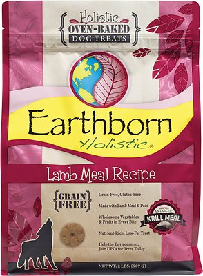 Earthborn Holistic Grain-Free Lamb Meal Recipe Dog Treats