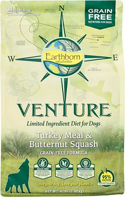 Earthborn Holistic Venture Turkey Meal & Butternut Squash Limited Ingredient Diet Grain-Free Dry Dog Food