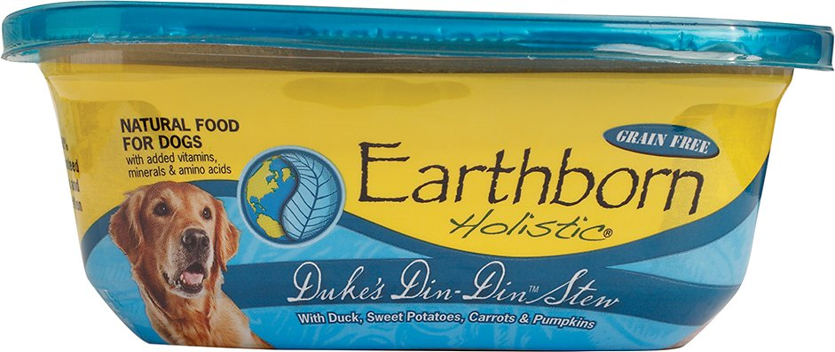 Earthborn Holistic Duke's Din-Din Grain-Free Natural Moist Dog Food, 8-oz
