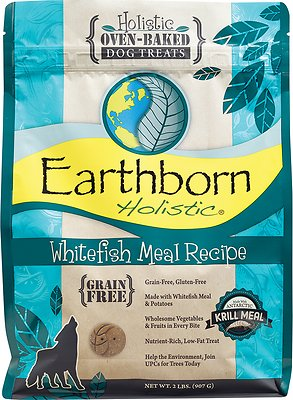 Earthborn Holistic Grain-Free Whitefish Meal Recipe Dog Treats