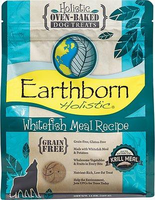 Earthborn Holistic Grain-Free Whitefish Meal Recipe Dog Treats