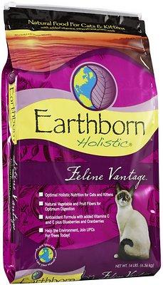 Earthborn Holistic Feline Vantage Natural Dry Cat & Kitten Food
