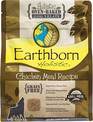 Earthborn Holistic Grain-Free Chicken Meal Recipe Dog Treats