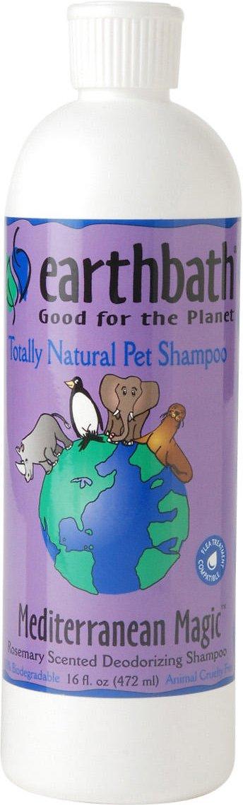 Earthbath Deodorizing Rosemary Dog & Cat Shampoo, 16-oz bottle