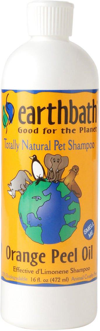 Earthbath Dirty Dog Sweet Orange Oil Dog Shampoo, 16-oz bottle