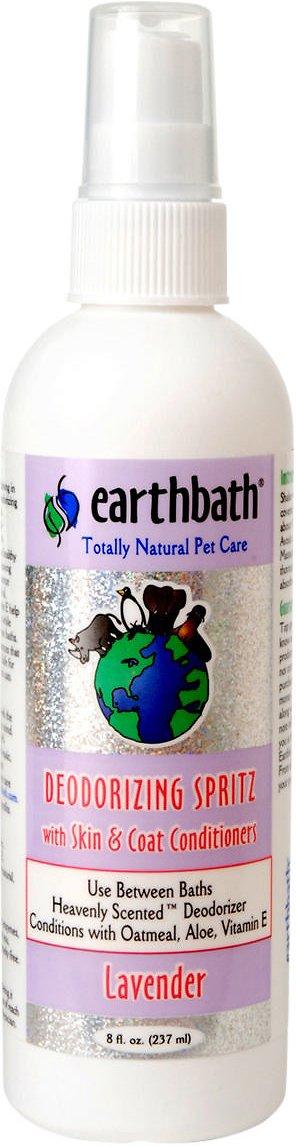 Earthbath Deodorizing Lavender Spritz for Dogs, 8-oz bottle