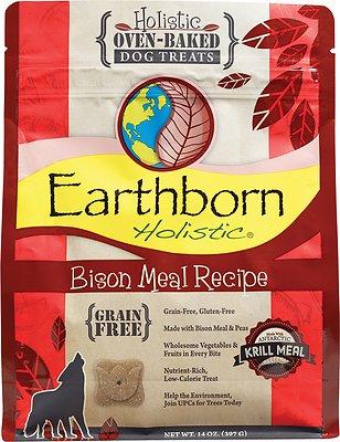 Earthborn Holistic Grain-Free Bison Meal Recipe Dog Treats