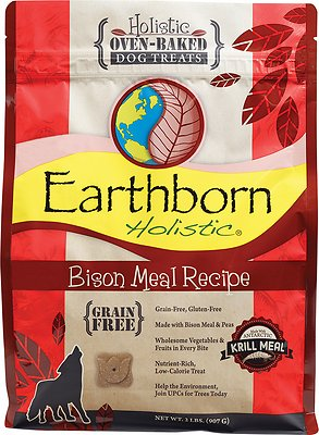 Earthborn Holistic Grain-Free Bison Meal Recipe Dog Treats
