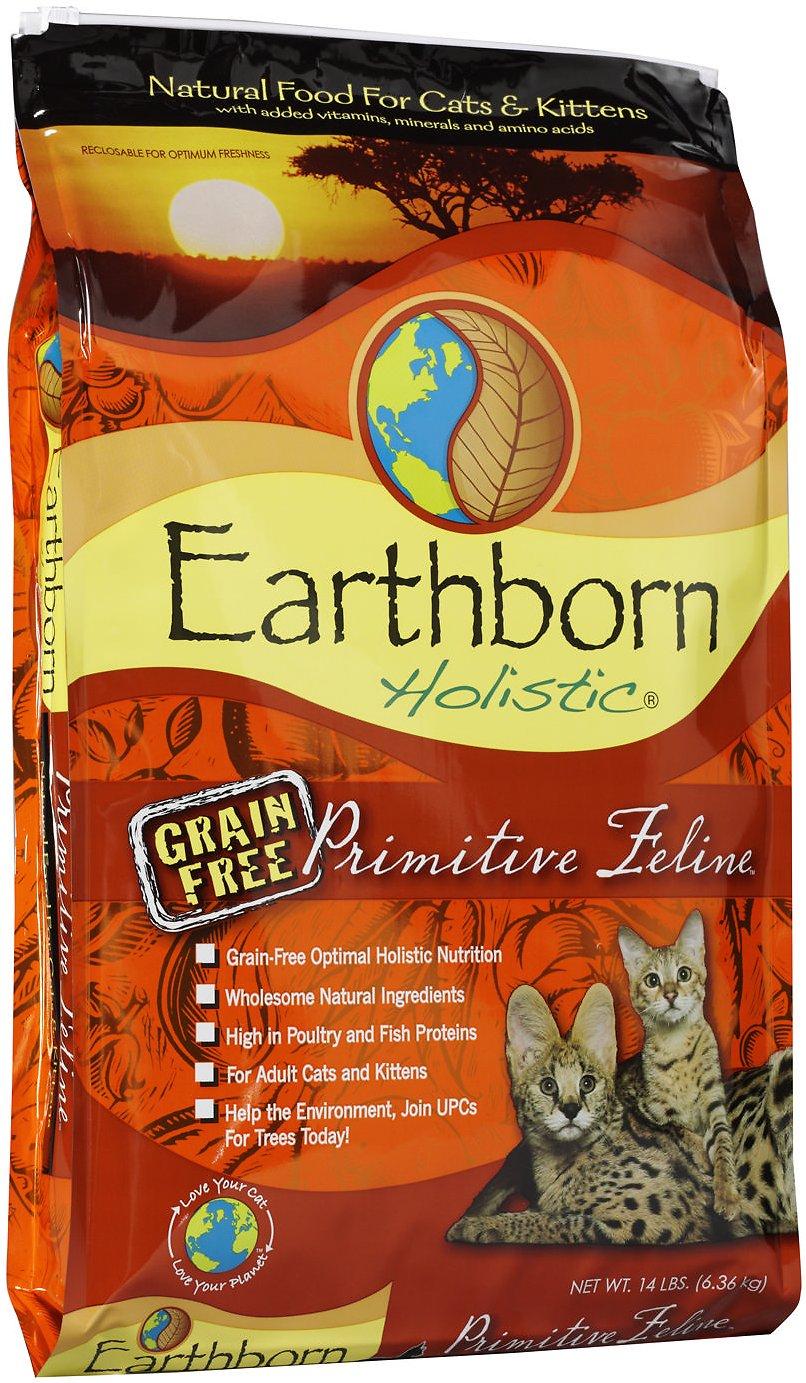 Earthborn Holistic Primitive Feline Grain-Free Natural Dry Cat & Kitten Food Image