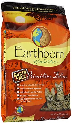 Earthborn Holistic Primitive Feline Grain Free Natural Dry Cat