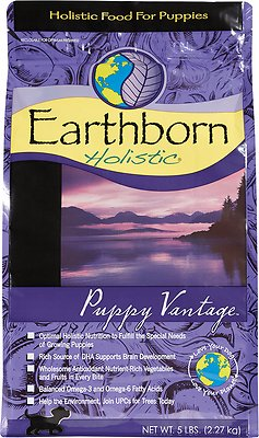 Earthborn Holistic Puppy Vantage Natural Dry Dog Food