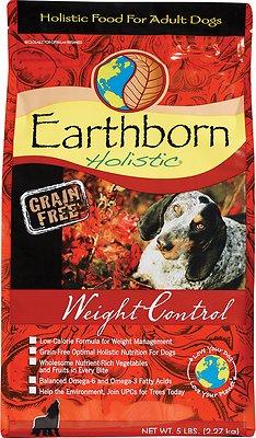 Earthborn Holistic Grain-Free Weight Control Dry Dog Food