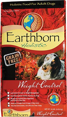 Earthborn Holistic Grain-Free Weight Control Dry Dog Food
