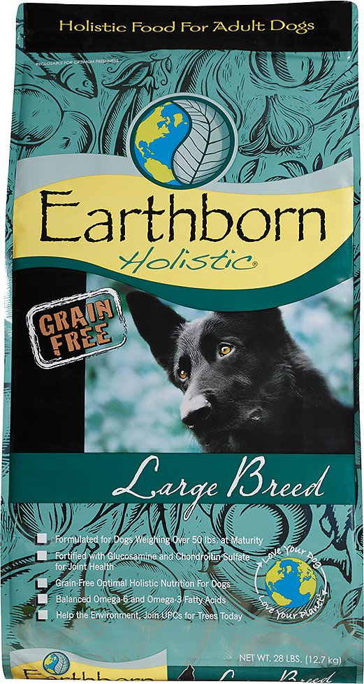 Earthborn Holistic Grain-Free Large Breed Dry Dog Food Image