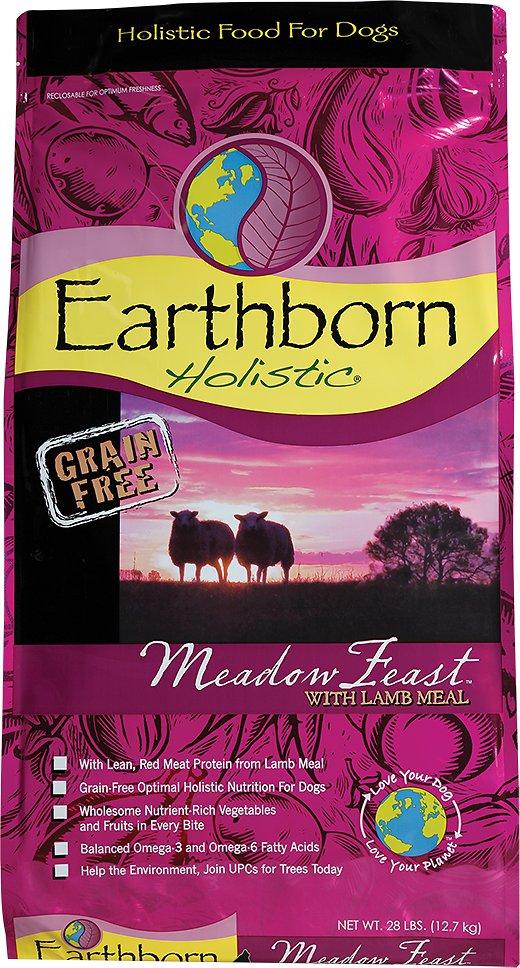 Earthborn Holistic Meadow Feast Grain-Free Natural Dry Dog Food Image