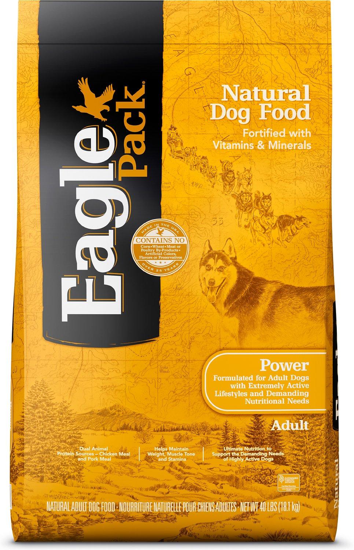 Eagle Pack Power Adult Dry Dog Food, 40-lb bag
