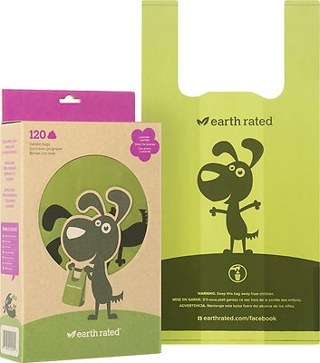 Earth Rated PoopBags Handle Bags, Scented