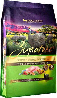 Zignature Guinea Fowl Limited Ingredient Formula Grain-Free Dry Dog Food, 4-lb bag