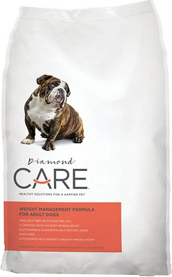 Diamond Care Weight Management Formula Adult Grain-Free Dry Dog Food Weights: 25.0 pounds, Size: 25-lb bag