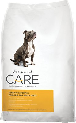 Diamond Care Sensitive Stomach Formula Adult Grain-Free Dry Dog Food, 25-lb bag