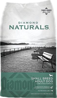 Diamond Naturals Small Breed Adult Lamb & Rice Formula Dry Dog Food, 6-lb bag