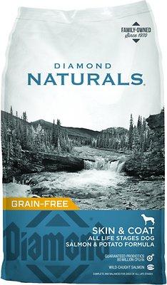 Diamond Naturals Skin & Coat Formula All Life Stages Grain-Free Dry Dog Food, 30-lb bag