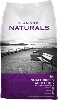 Diamond Naturals Small Breed Adult Chicken & Rice Formula Dry Dog Food, 6-lb bag
