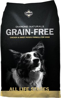 Diamond Naturals Grain-Free Chicken & Sweet Potato Formula Dry Dog Food