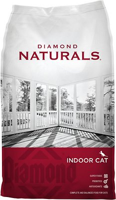 Diamond Naturals Indoor Formula Dry Cat Food, 6-lb bag