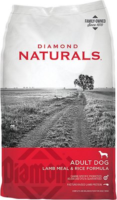 Diamond Naturals Lamb Meal & Rice Formula Adult Dry Dog Food Weights: 40.0 pounds, Size: 40-lb bag