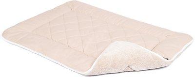 Dog Gone Smart Sleeper Cushion Dog & Cat Bed, Sand, Medium