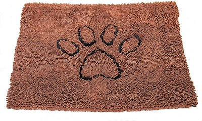 Dog Gone Smart Dirty Dog Doormat, Brown Size: Large