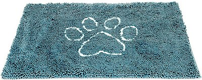 Dog Gone Smart Dirty Dog Doormat, Pacific Blue