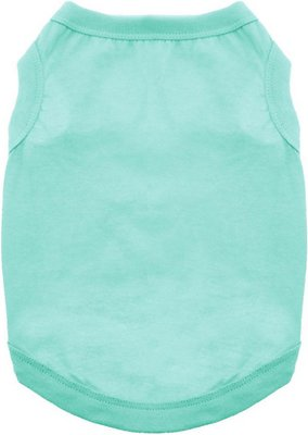 Doggie Design 100% Cotton Dog Tank, Teal, XX-Large