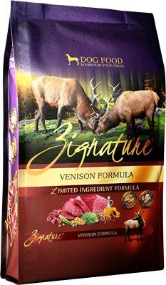 Zignature Venison Limited Ingredient Formula Grain-Free Dry Dog Food, 4-lb bag