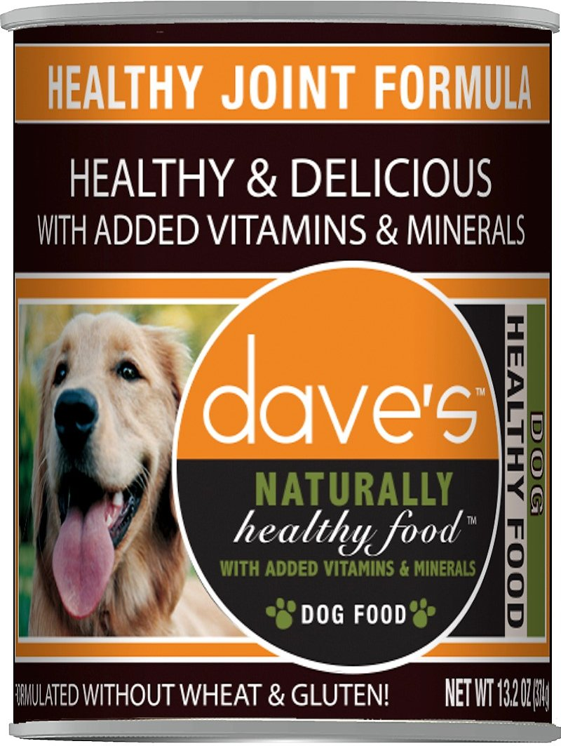Dave's Dog Food Naturally Healthy Joint Formula Canned Dog Food, 13-oz