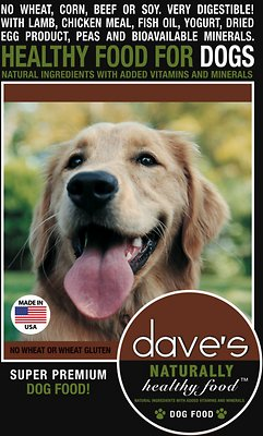 Dave's Dog Food Naturally Healthy Adult Dry Dog Food, 4-lb bag