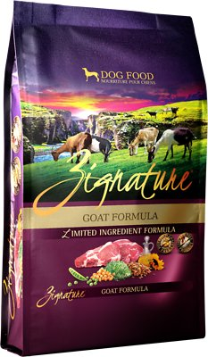Zignature Goat Limited Ingredient Formula Grain-Free Dry Dog Food, 4-lb bag