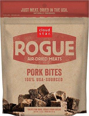 Cloud Star Rogue Air-Dried Pork Bites Dog Treats