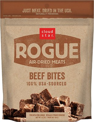 Cloud Star Rogue Air-Dried Beef Bites Dog Treats