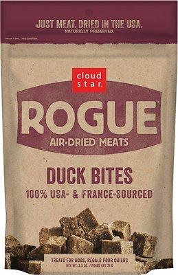 Cloud Star Rogue Air-Dried Duck Bites Dog Treats