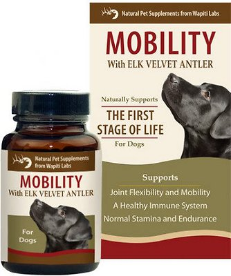 Wapiti Labs Mobility Formula Dog Powder Supplement
