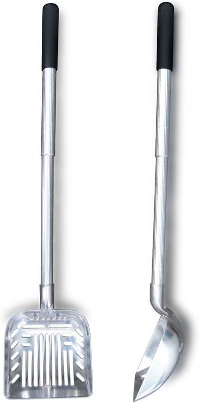 Cats Rule Stand Up & Scoop Extendable Litter Scoop