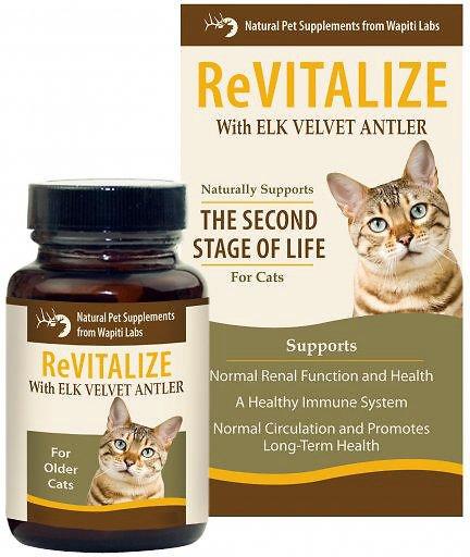 Wapiti Labs ReVitalize Formula Cat Supplement, 0.53-oz bottle