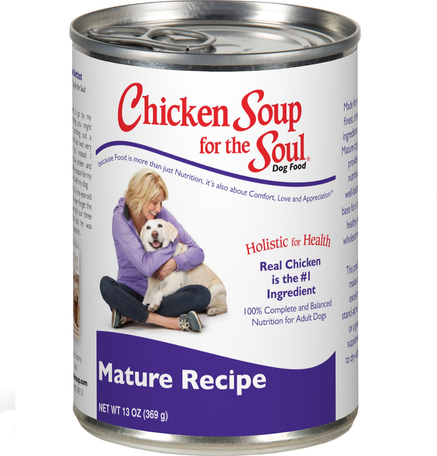 Chicken Soup for the Soul Mature Canned Dog Food