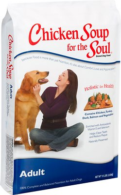 Chicken Soup for the Soul Adult Dry Dog Food, 15-lb bag