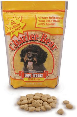 Charlee Bear Liver Flavor Dog Treats, 16-oz